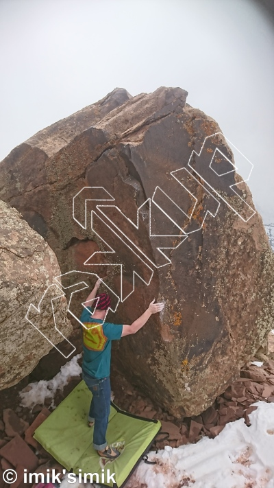 photo of Neverland from Oukaimeden Bouldering Morocco