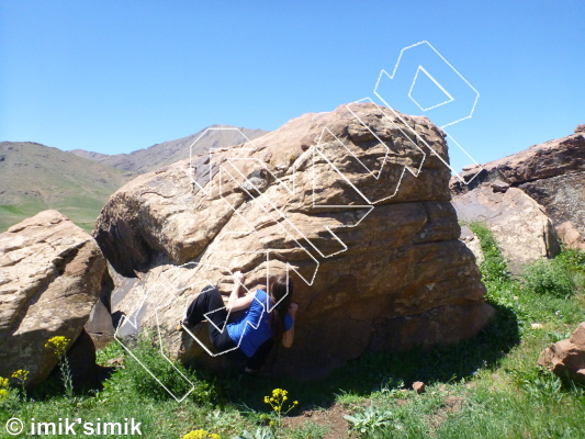 photo of Kruimelbrood from Oukaimeden Bouldering Morocco