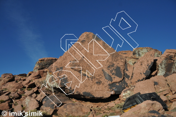 photo of Pyramide from Oukaimeden Bouldering Morocco