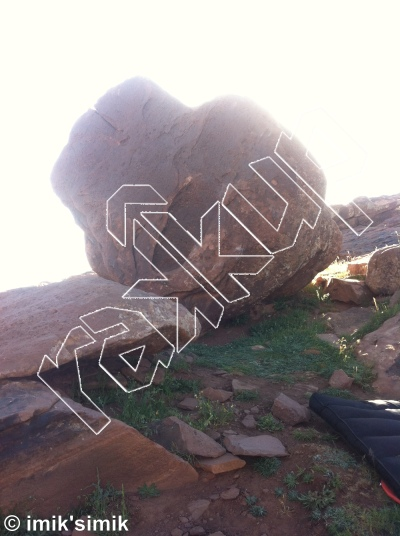 photo of Celine  from Oukaimeden Bouldering Morocco