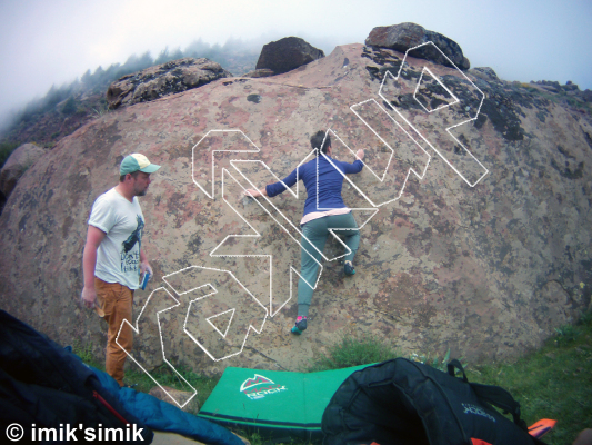 photo of The Lizard from Oukaimeden Bouldering Morocco
