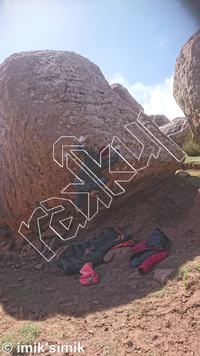 photo of Inshallah from Oukaimeden Bouldering Morocco
