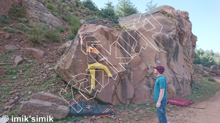 photo of Debris from Oukaimeden Bouldering Morocco