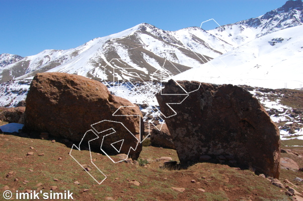 photo of Tranche from Oukaimeden Bouldering Morocco