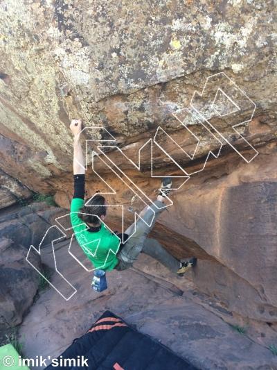 photo of YOLO from Oukaimeden Bouldering Morocco