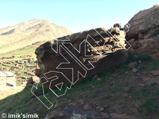 photo of Elections from Oukaimeden Bouldering Morocco