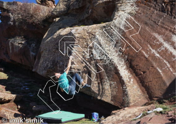 photo of Probability Wave  from Oukaimeden Bouldering Morocco