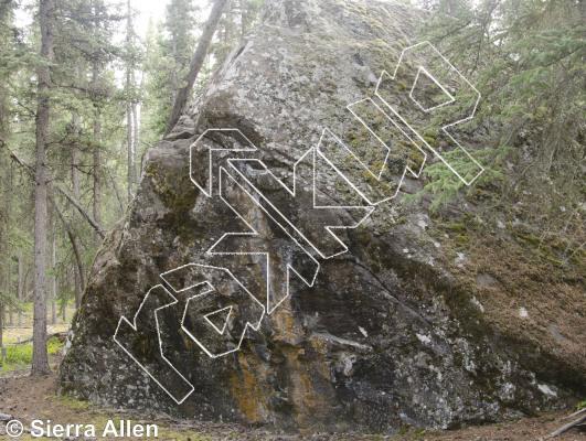 photo of Basalt Boulder from Yukon Bouldering