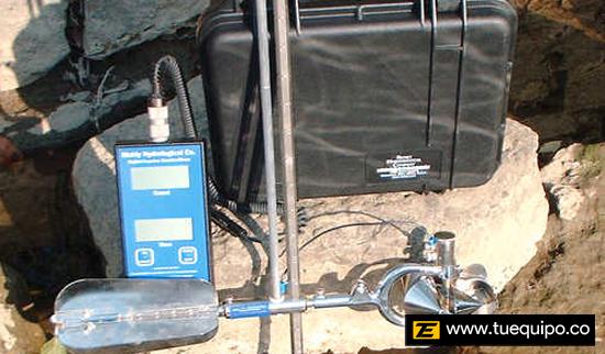 Medidor de Corriente de Agua Marca WaterMark
