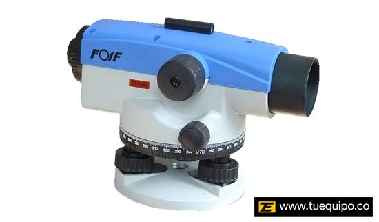 Nivel Óptico Mecánico FOIF para Topografía