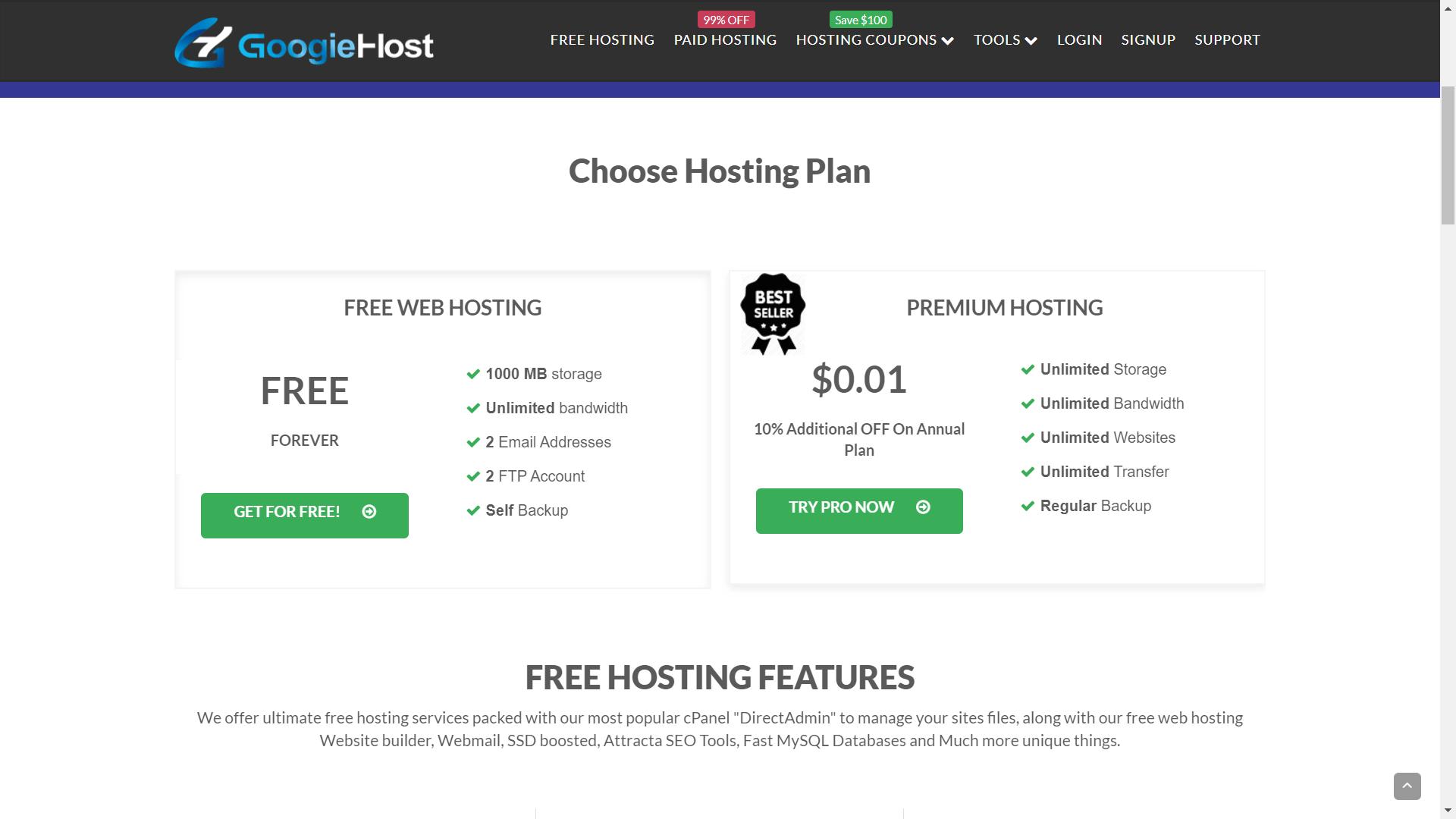 googiehost.com