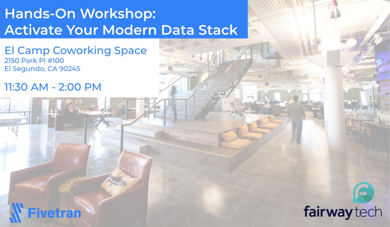 Hands-On Workshop - Activate your Modern Data Stack - LA