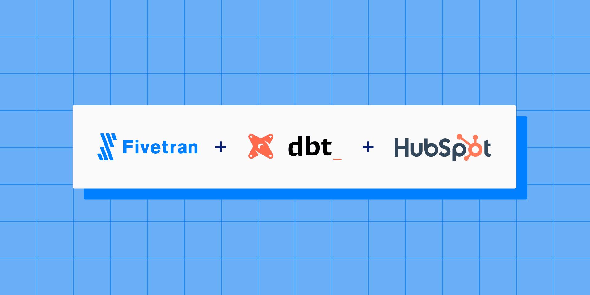 Announcing the Fivetran dbt Package for HubSpot