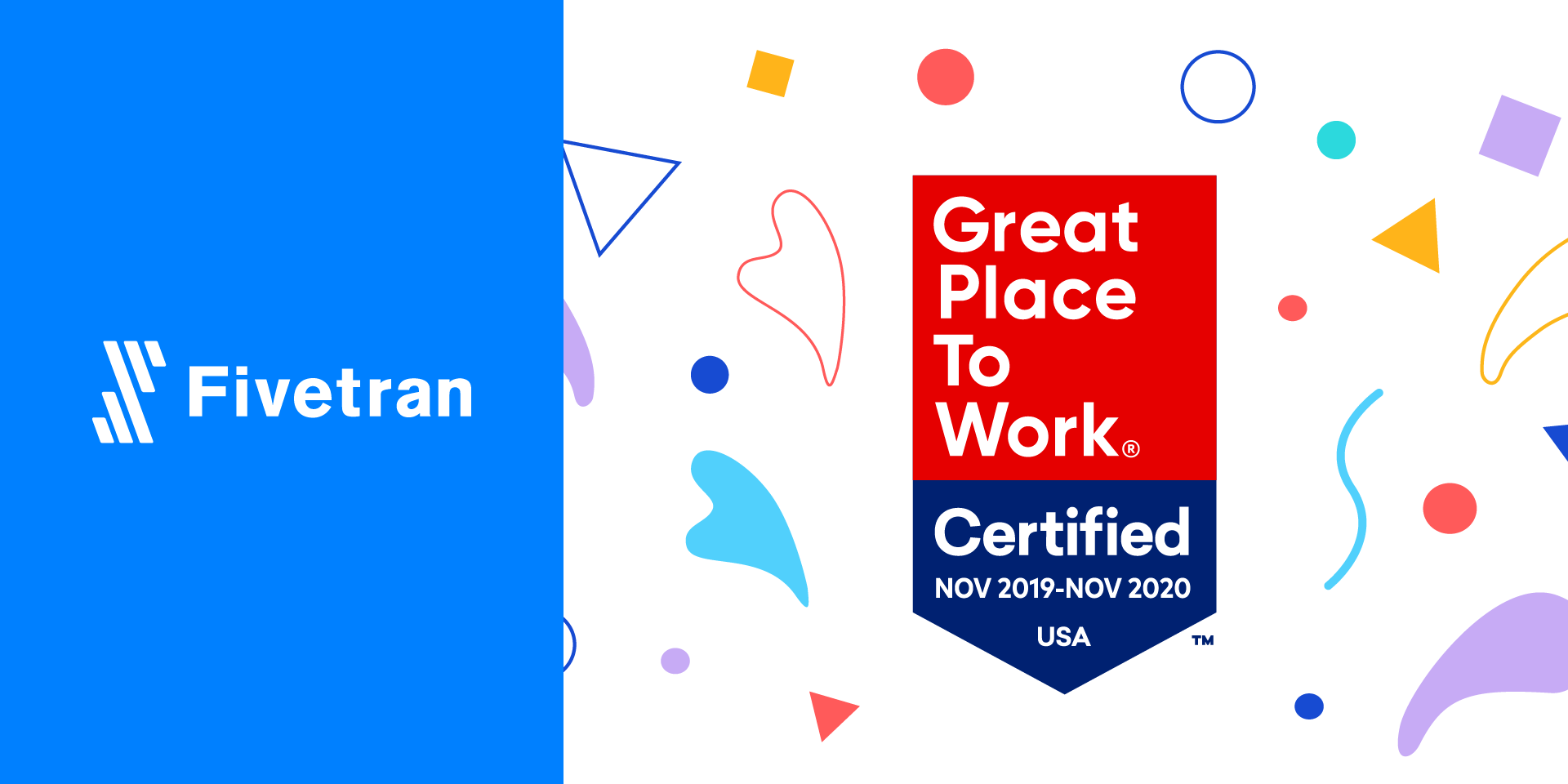 "Fivetran Earns ""Great Place to Work"" Certification"