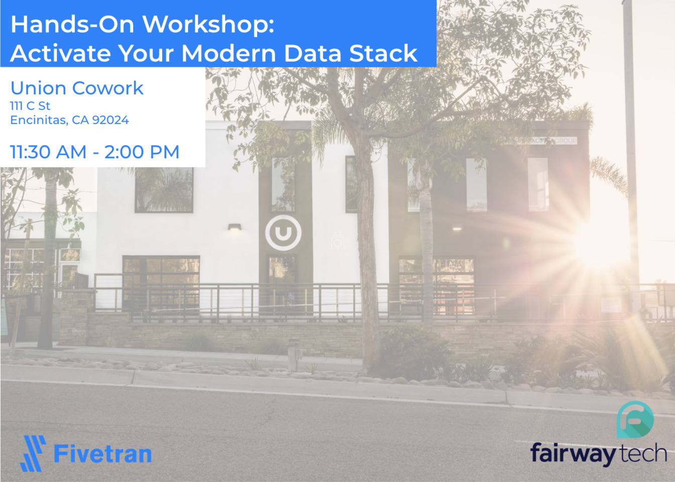 Hands-On Workshop - Activate your Modern Data Stack - San Diego
