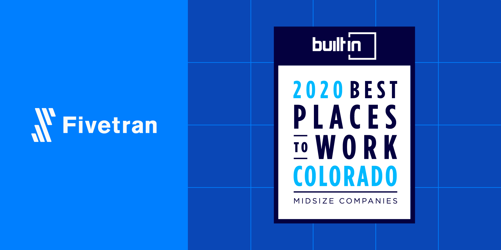 "Fivetran Named One of the ""Best Places to Work in Colorado"""