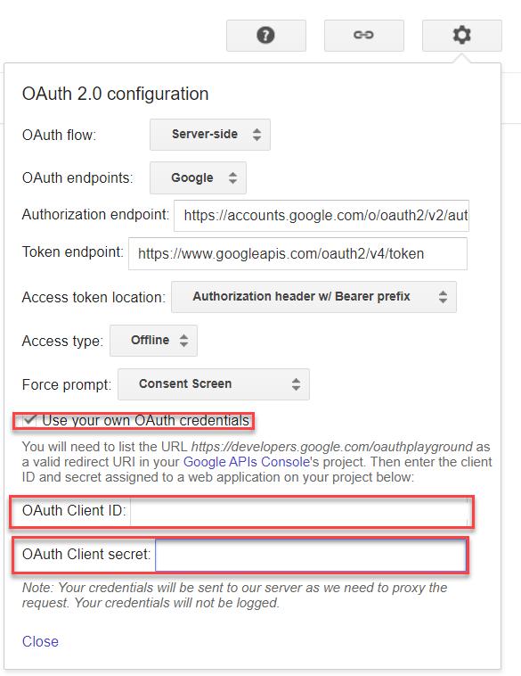 Client ID 以及 Client Secret