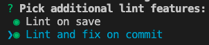 Pick additional lint features