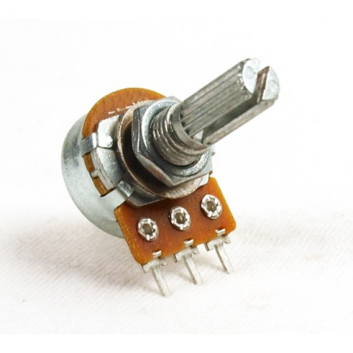 diagonal view of potentiometer