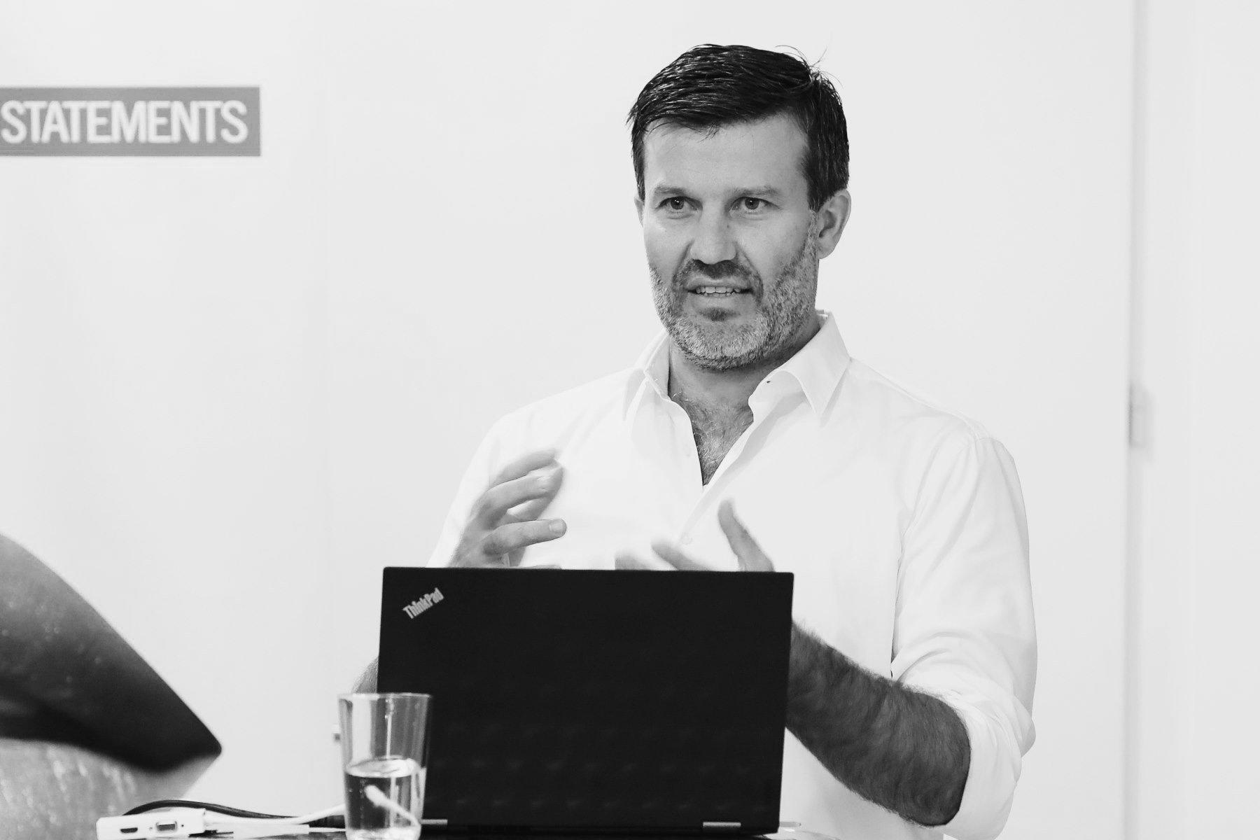 Thomas Niederdorfer von We Make Stories bei Strategie Austria.