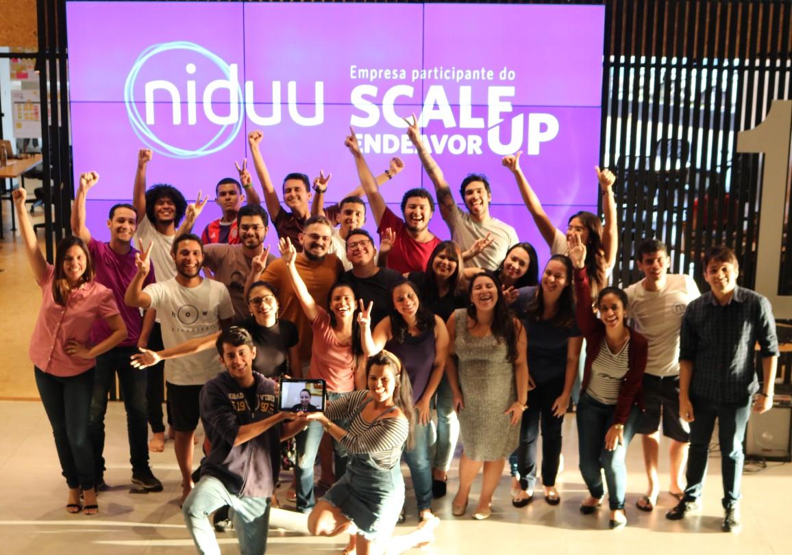 Startup Niduu é Scale-Up Endeavor 2019