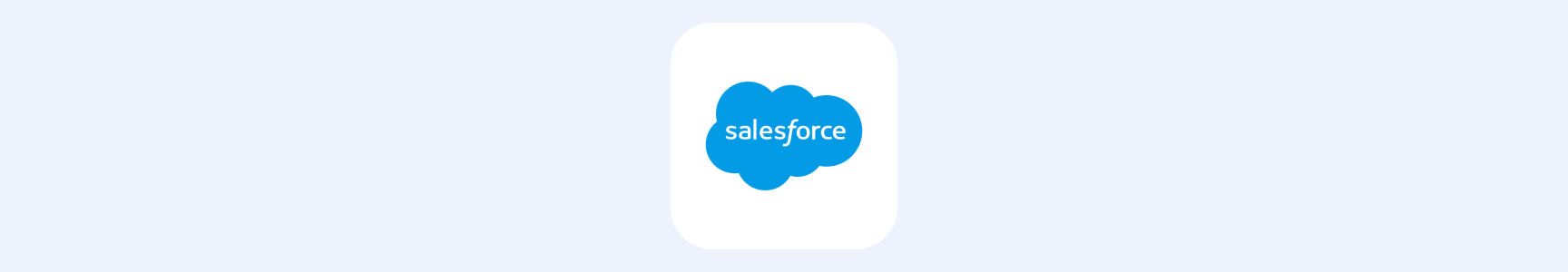 Salesforce banner