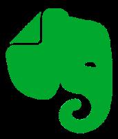 Evernote web clipper logo