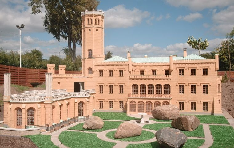 Model Pałacu Wilhelma III
