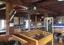 Eksponaty w części muzealnej Parku Historycznego Blizna