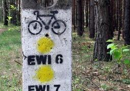 Oznaczenie szlaków rowerowych