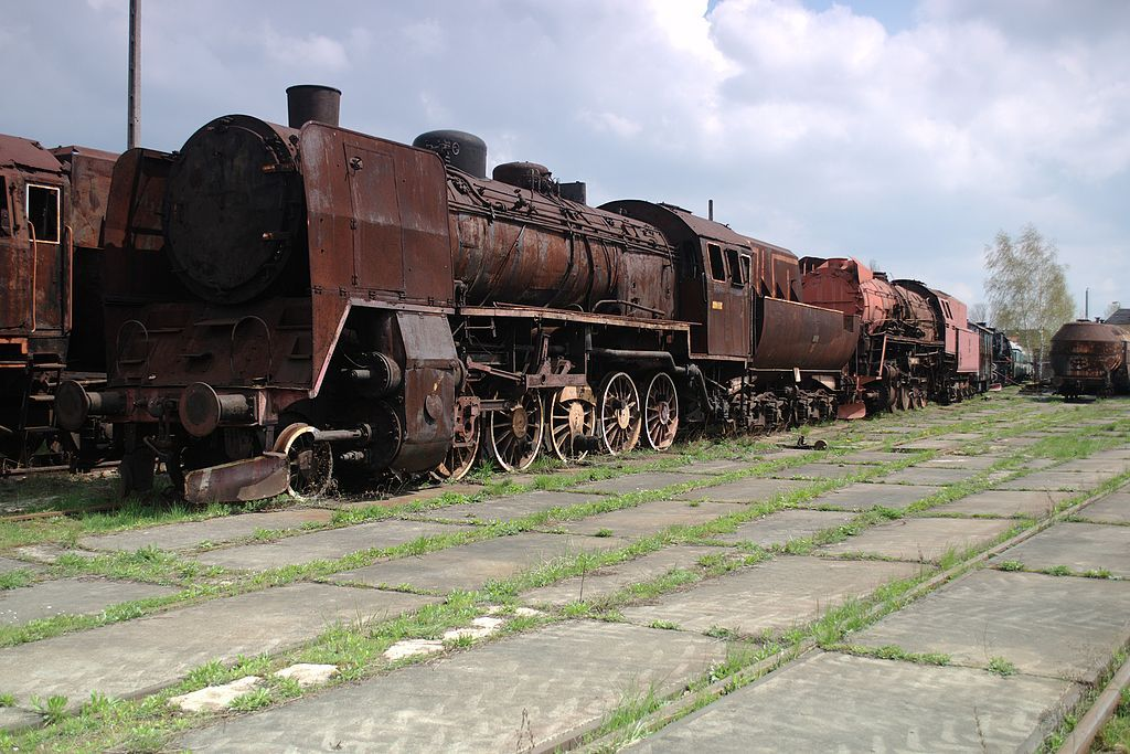 Open-air museum of rolling stock