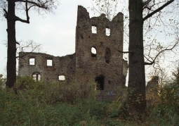 Photo: Castle ruins in the period before reconstruction work began
