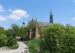 Katedra wiosną