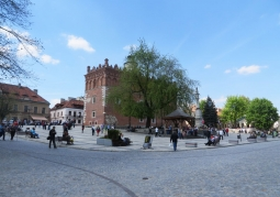Sandomierz town hall