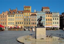 Warszawska syrenka - Stare Miasto