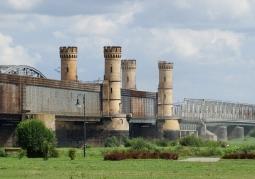 Wieże na moście w Tczewie