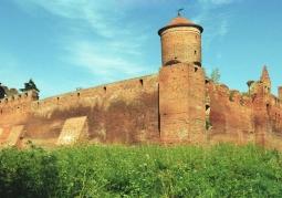 Zachodnia część zamku