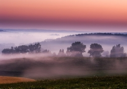 Zachód słońca w Suwalskim Parku Krajobrazowym
