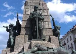 Pomnik upamiętniający Bitwę pod Grunwaldem