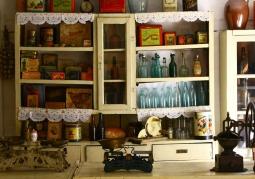 Zabytkowy sklep w skansenie