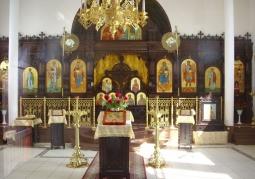 Zabytkowe wnętrze cerkwi