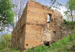 Ruiny zamku Kryłów