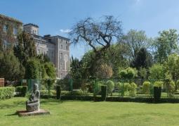 Park przy zamku