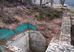 Fragment murów zamkowych