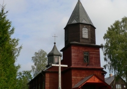 Wooden building of the church of St. Anna