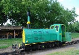 Chain drive locomotive