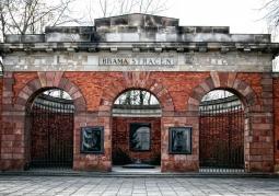 Brama Cytadeli Warszawskiej- widok ogólny