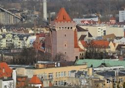 Zamek widziany z Collegium Altum