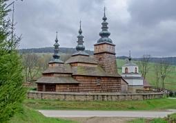 Widok ogólny budynku cerkwi