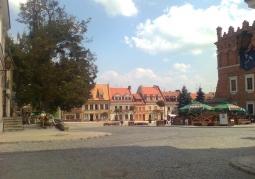 The market in Sandomierz